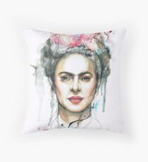 Frida the Goddess Throw Pillow