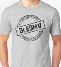 DLEDMV Logo T-shirt unisexe