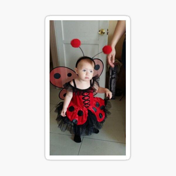 Lady Bug Princess Sticker