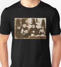 Witches Tea Party - sepia Unisex T-Shirt