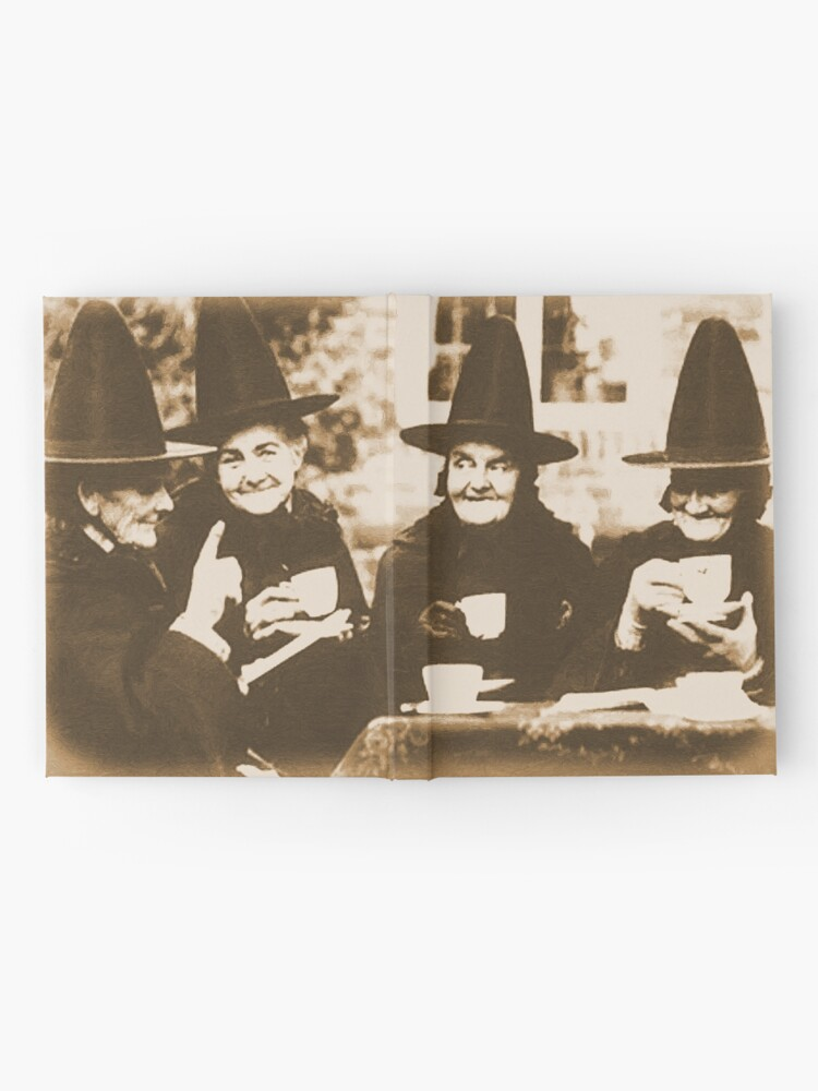 Alternate view of Witches Tea Party - sepia Hardcover Journal