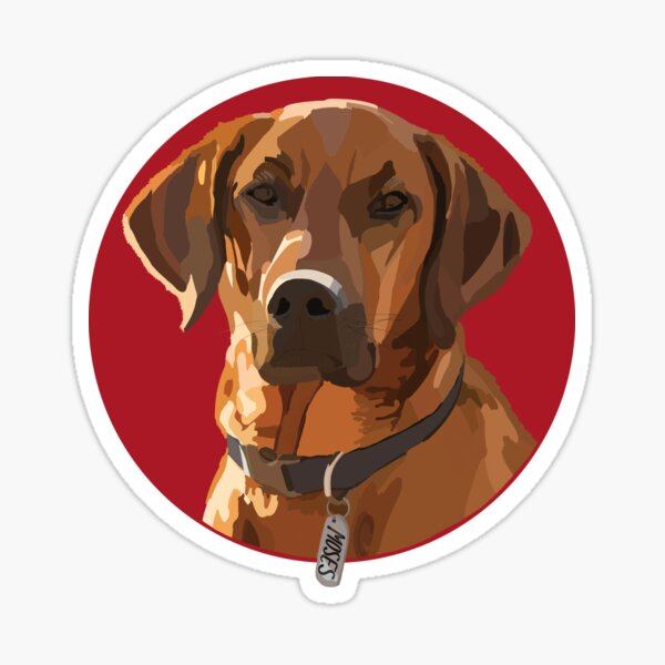 Custom Pet: Moses Sticker