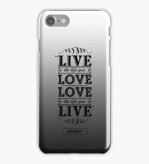 BOB MARLEY iPhone Case/Skin
