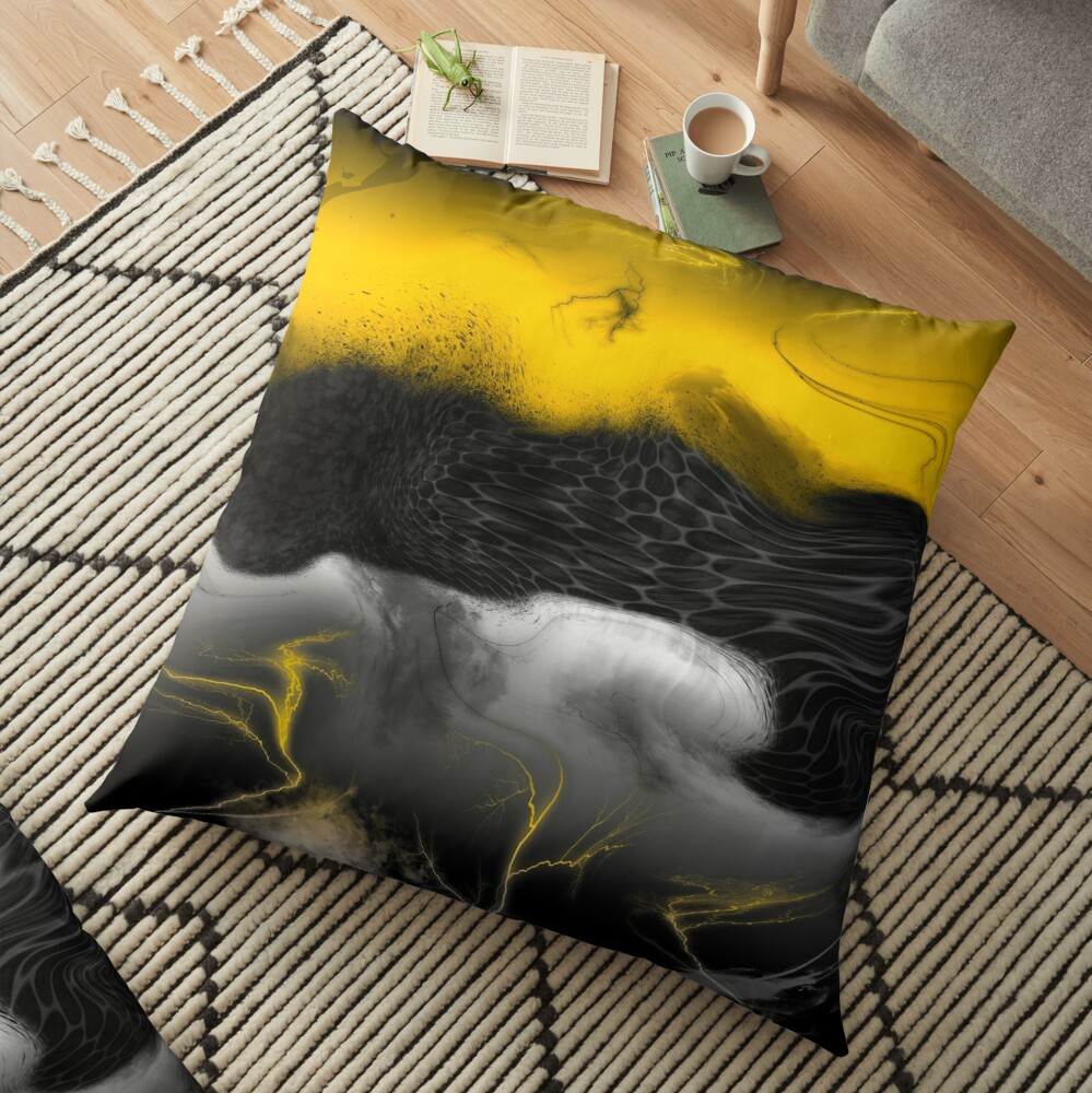 Another Realm Floor Pillow