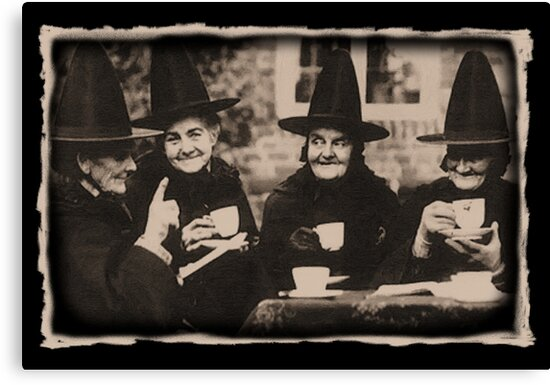 Congratulate, seems Witches tea party