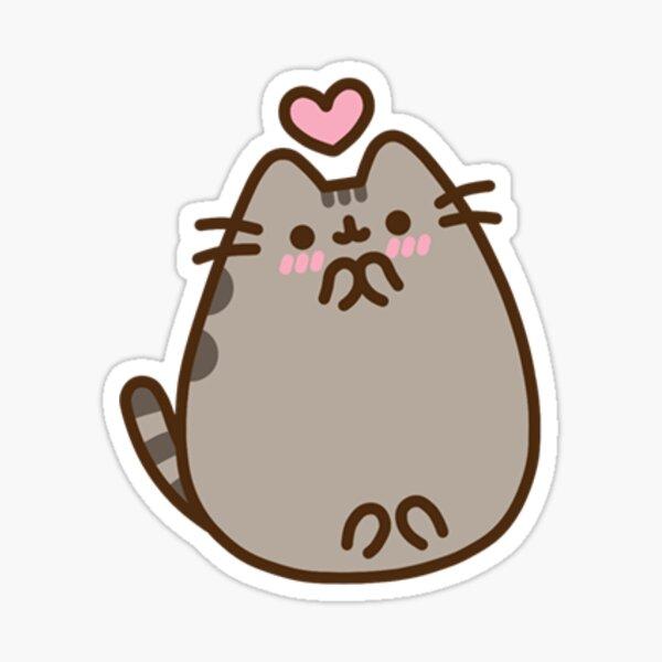 Pusheen Heart Sticker