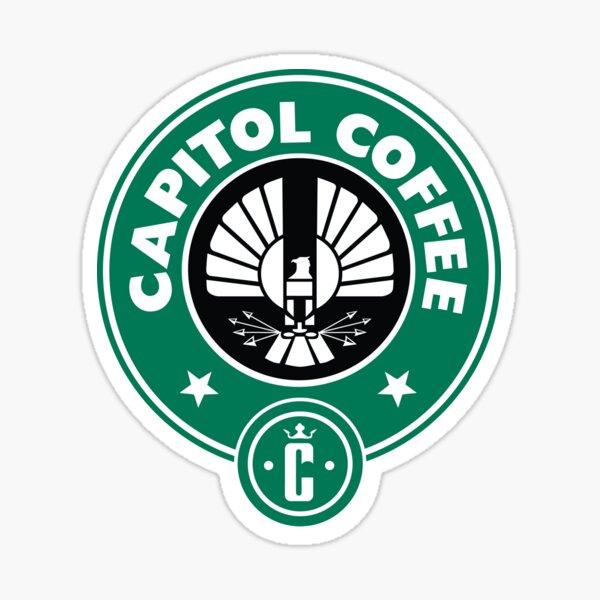 Café capitolio Pegatina