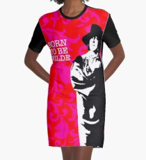Born to be Wilde Graphic T-Shirt Dress