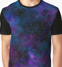 Space beautiful night sky image Graphic T-Shirt