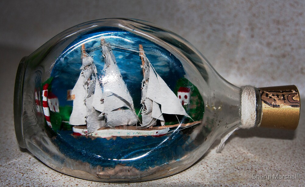 Boat in a Bottle by Sheryl Marshall