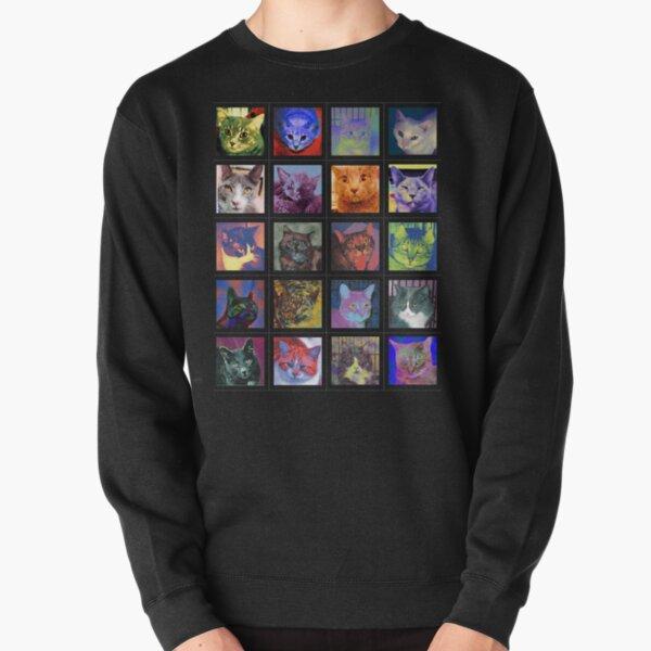 Cats of Color Pullover Sweatshirt