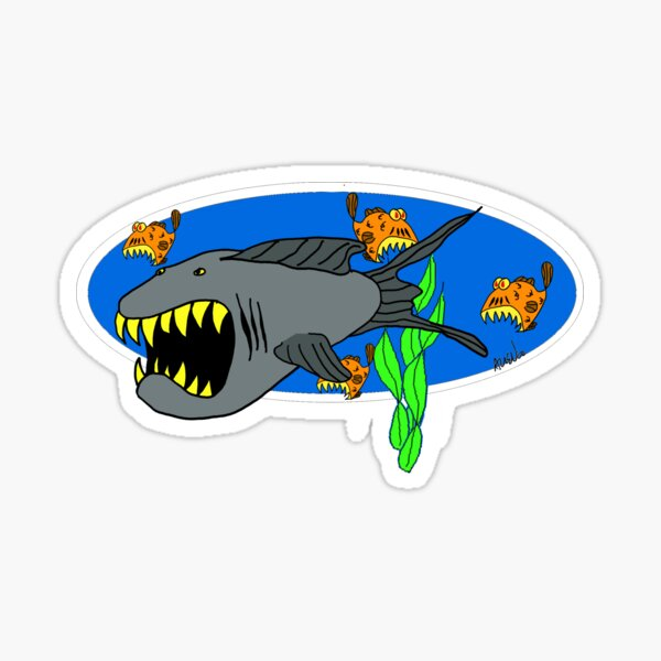 SharkFish Sticker