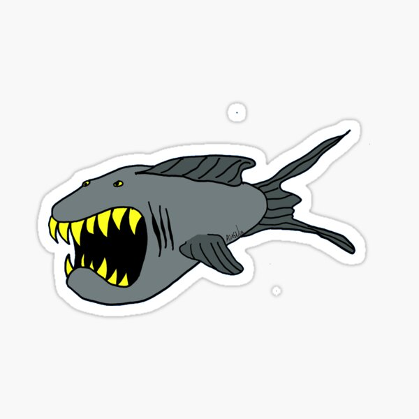 The Sharkfish Sticker