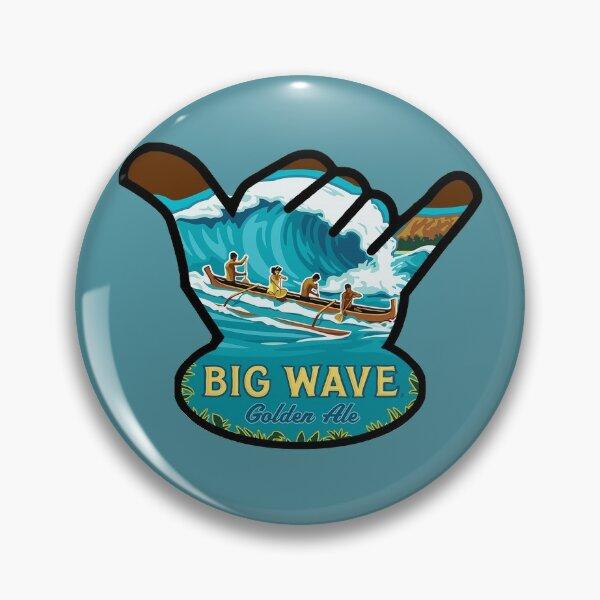 Kona Big Wave Shaka Pin