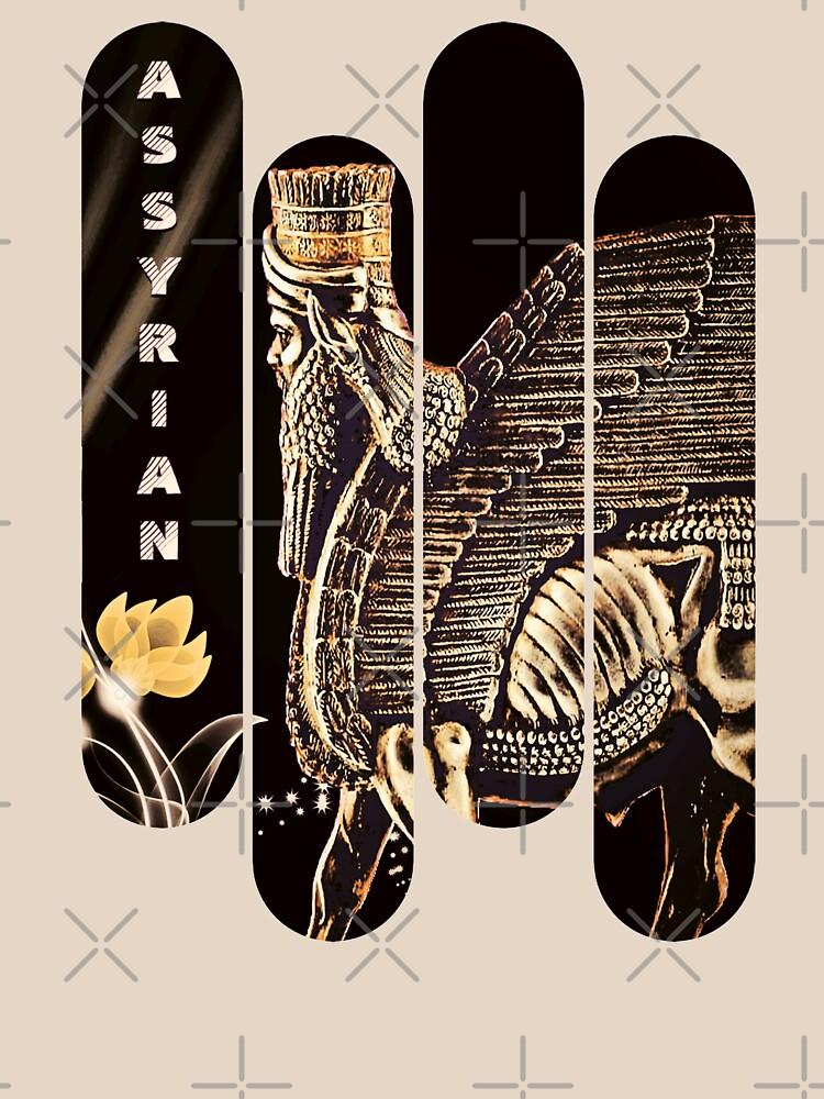 ASSYRIAN (Lamassu)  by doniainart