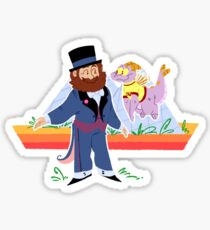 dreamfinder and figment Sticker
