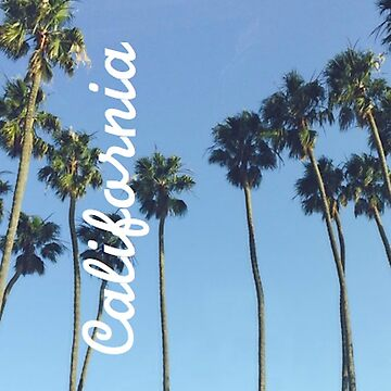 Original photo - California palm trees iPhone case  by Neve12