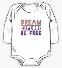Be Free One Piece - Long Sleeve