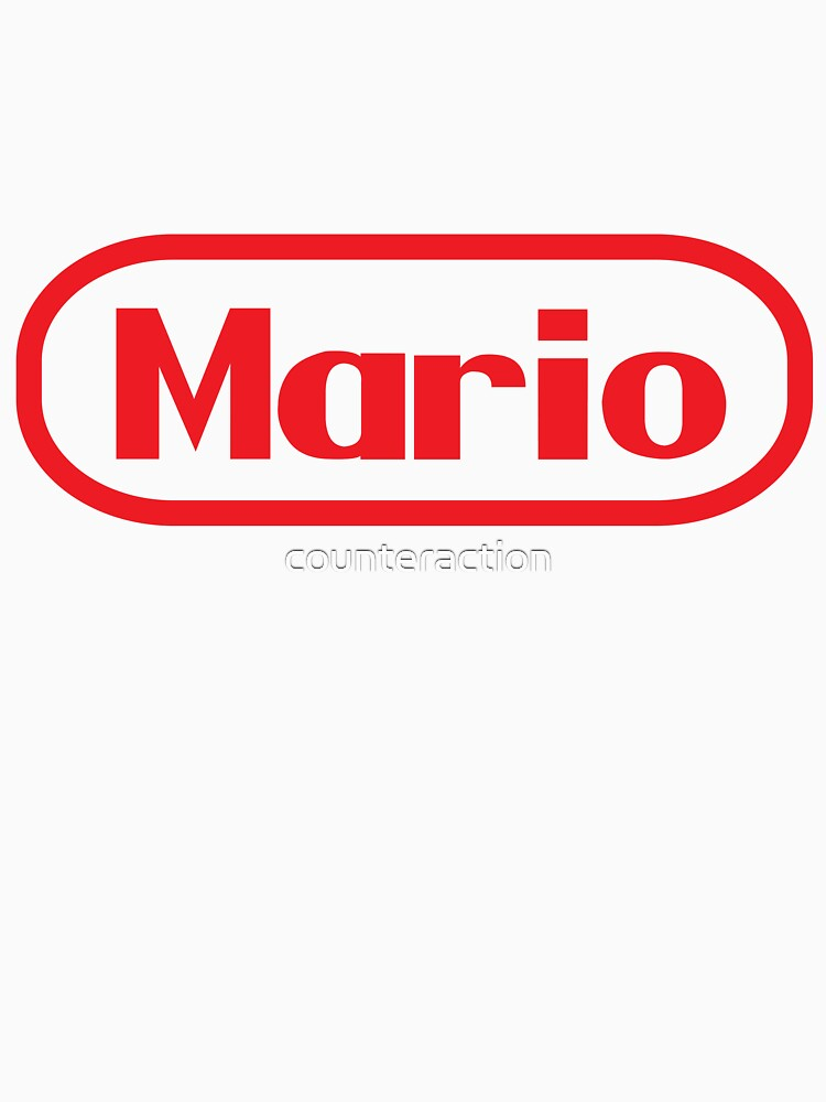 Mario Logo by counteraction