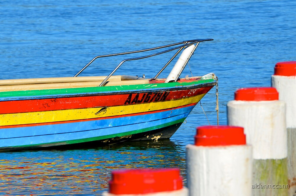 Colourful Boat by aidenmccann