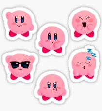 kirby emojis Sticker