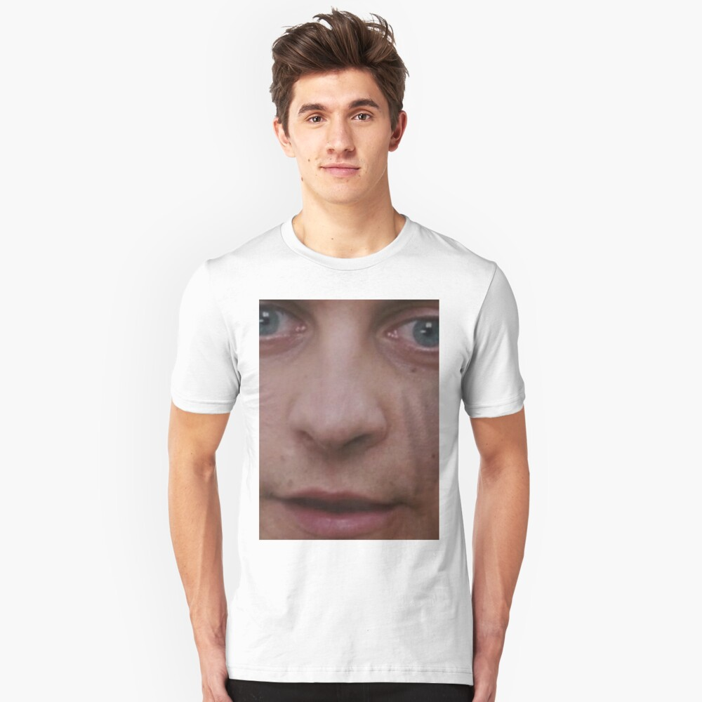 Tobey Maguire's Face Unisex T-Shirt Front