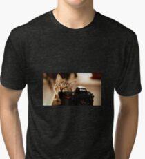 Cat Photographer Tri-blend T-Shirt