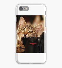 Cat Photographer iPhone Case/Skin