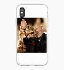 Cat Photographer iPhone Case