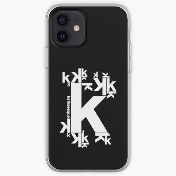 KAFKAESQUE (BLACK) iPhone Soft Case