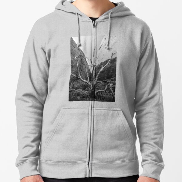 Valley of the Winds at The Olgas (M) Zipped Hoodie