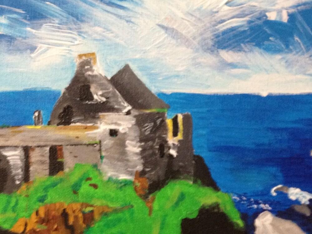 Grey castle by Simart76