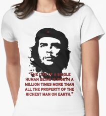 Che Guevara Quote Women's Fitted T-Shirt