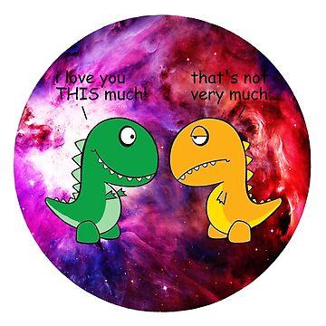 Dinosaur Love Quote by BigCrew