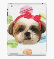 Shitzhu Dog with Headband iPad Case/Skin