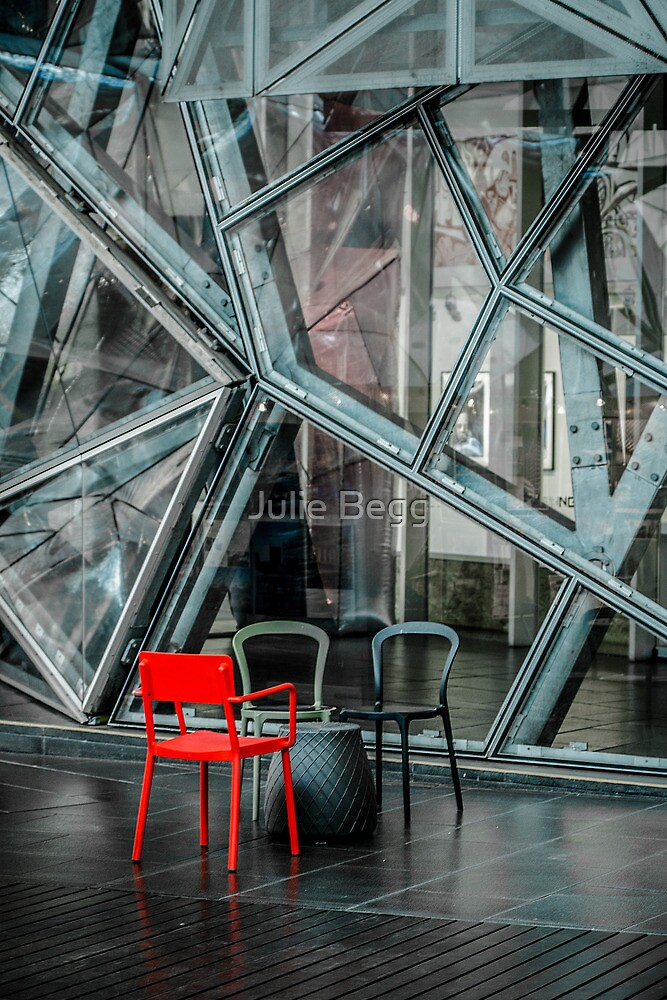 The Red Chair by Julie Begg