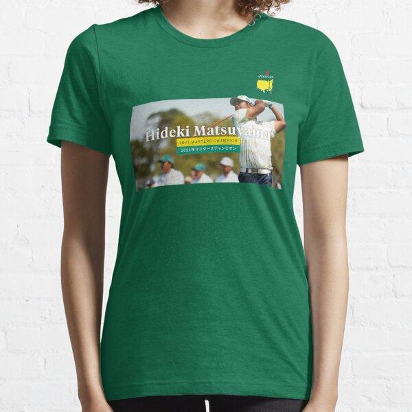 Hideki Matsuyama Golf Masters Champions 2021 Essential T-Shirt