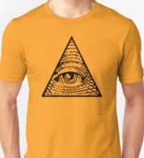 Eye of Providence Black Unisex T-Shirt