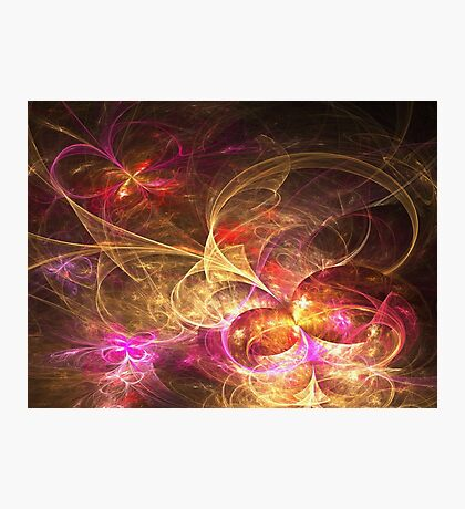 Leaving Home, Coming Home - Abstract Fractal Artwork Photographic Print