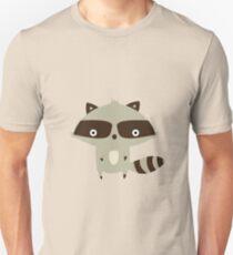 Waschbär Unisex T-Shirt