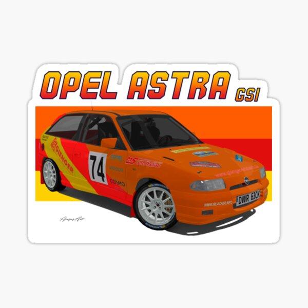 Opel Astra GSI Sticker