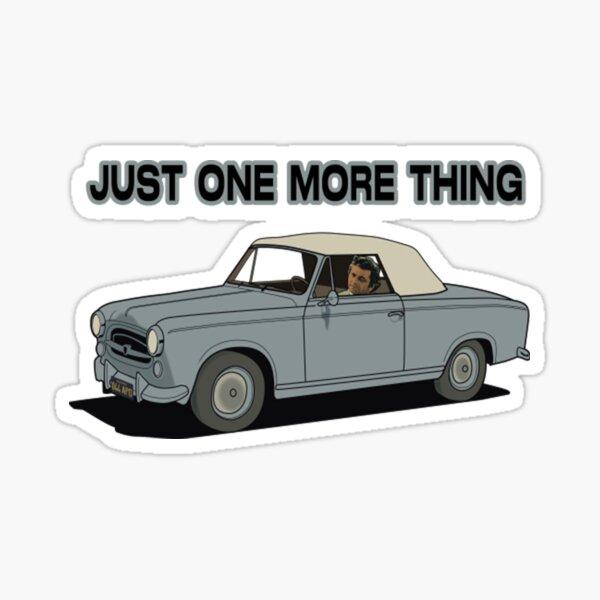 Columbo - Peugeot Sticker