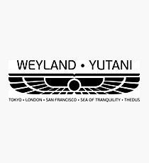 Weyland Yutani Photographic Print