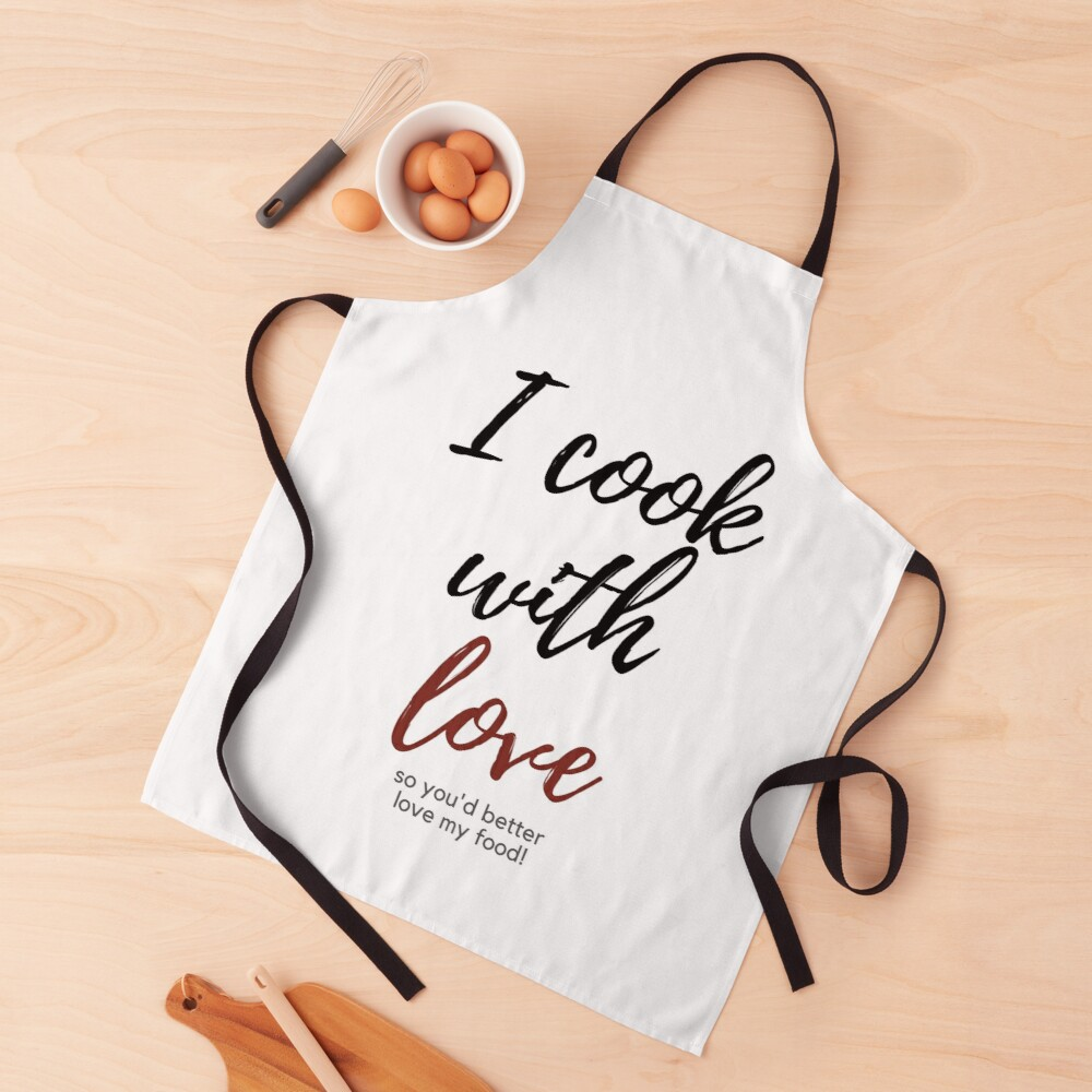 Cooking with Love Apron