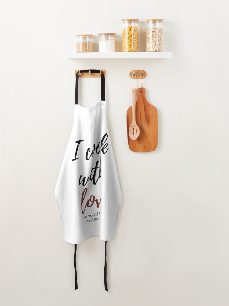 Alternate view of Cooking with Love Apron