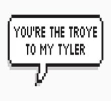 You're The Troye To My Tyler | Baseball  Sleeve