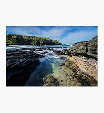 Rock Pool at Flinders Blowhole, Mornington Peninsula Photographic Print