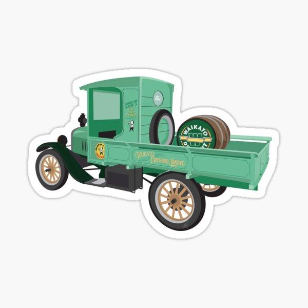 Waikato Draught Truck Original Illustration Sticker