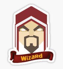 Wizzard 6th Level Sticker