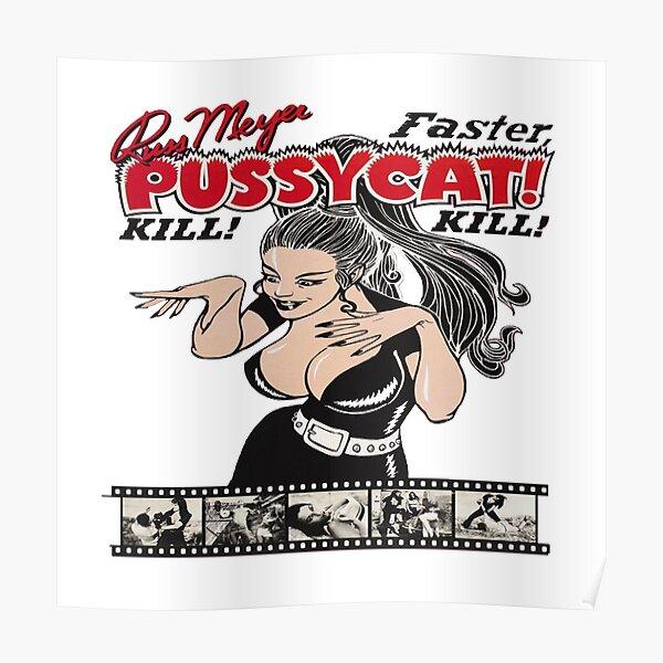 russ meyer ,faster pussycat kill! kill! Poster